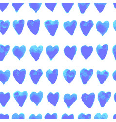 Colorful seamless pattern with hearts vector