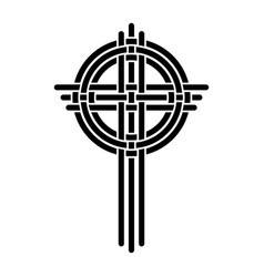 Cross as a christian symbol vector
