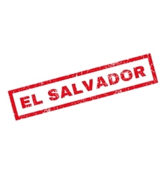 El Salvador Rubber Stamp vector
