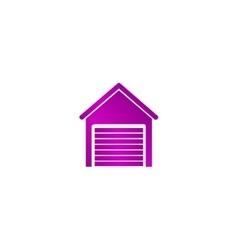 Garage icon Modern design flat style vector