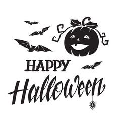 Halloween badge vector