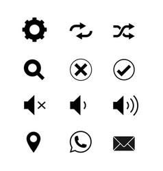 Icon-social vector