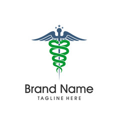medical symbol logo vector image