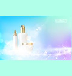 vitmin and regenerate cream vector image