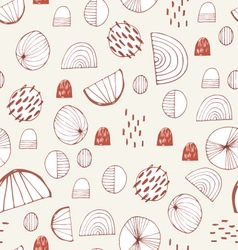 Winter holidays seamless pattern vector