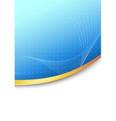 Modern folder blue background concept vector