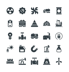 Industrial Cool Icons 1 vector image