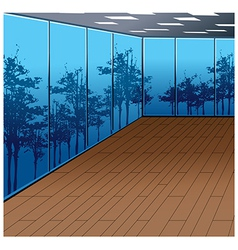 Interior Background vector image vector image