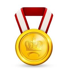 Premium Gold vector image vector image