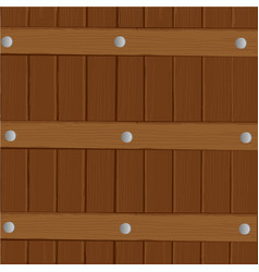 wooden fence and gates in cartoon vector image