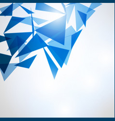 Abstract polygonal space low poly background vector
