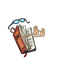book character no gesture vector image
