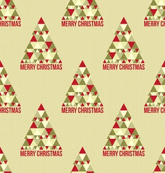 Christmas seamless vintage pattern vector
