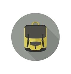 icon school bag vector image