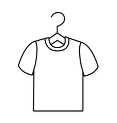 Isolated tshirt design vector