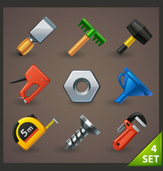 Tools icon set-4 vector