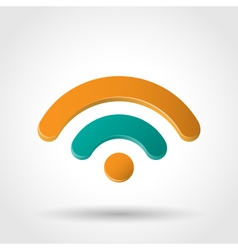 Wi fi symbol vector