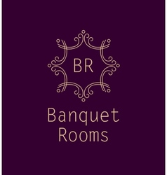 Banquet rooms vector