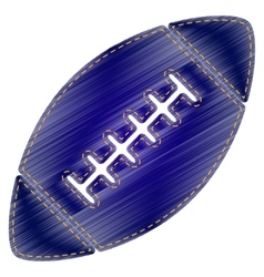 American simple football ball vector image vector image