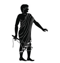 ancient greek men vector image