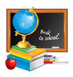 back to school illustration vector image