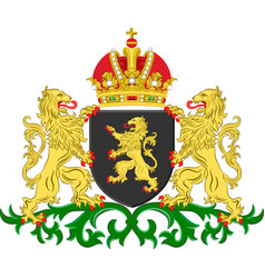 Coat of arms of north brabant netherlands vector