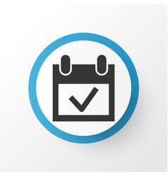 Event icon symbol premium quality isolated vector