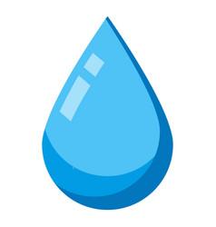 Eye drop icon isometric style vector