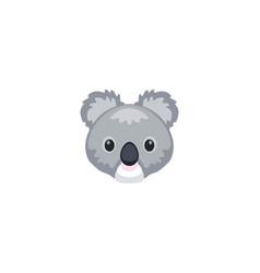 koala isolated icon vector image