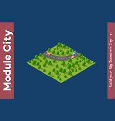 Landscape speed highway vector