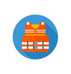 life jacket icon sign symbol vector image