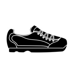 sport shoe fashion accessory icon vector image