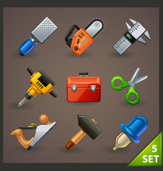 Tools icon set-5 vector
