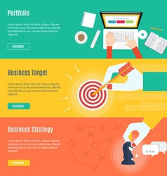 Element of business concept icon in flat design vector image vector image