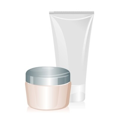 Tube of cream isolated vector image