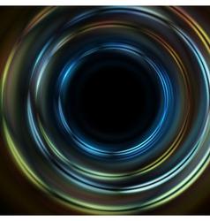 Dark backdrop vector image vector image