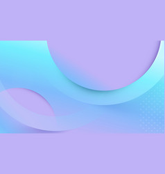 abstract geometric fluid shape color background vector image