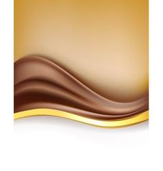 Creamy chocolate vector