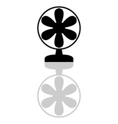 fan vector image