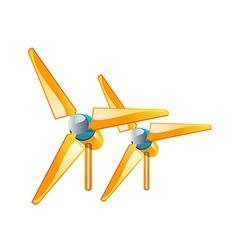 Icon propeller vector