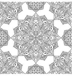 symbolic pattern of mandala vector image
