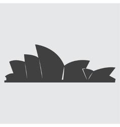 Sydney Opera House icon vector image