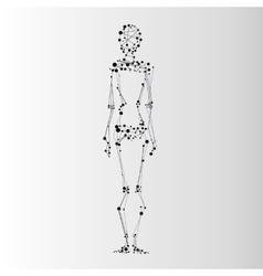 Abstract human icon vector