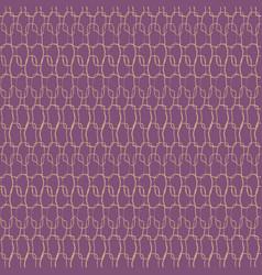 Crotchet stitches texture seamless pattern vector