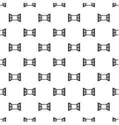 Open window frame pattern seamless vector