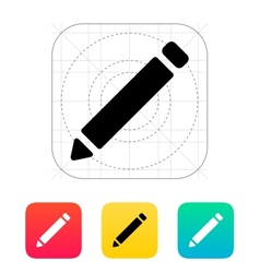 Pen icon vector image
