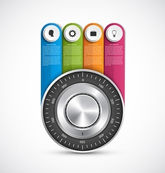 Protection information combination safe lock vector