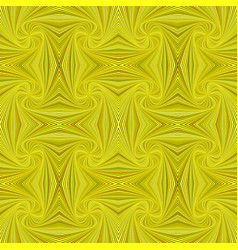 yellow seamless psychedelic abstract spiral vector image