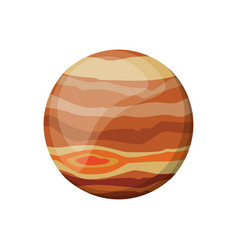jupiter planet space image vector image vector image