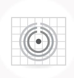 Icon cycle diagram vector image